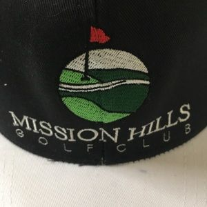 9661cfad15c Accessories - MISSION HILLS COUNTRY CLUB GOLF HAT tour pro item